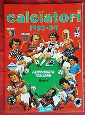 ALBUM FIGURINE CALCIATORI PANINI SERIE A 1983/1984 RISTAMPA L'UNITA' EDICOLA