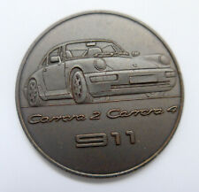 Porsche Kalendermedaille 911 Carrera 4 --1990--