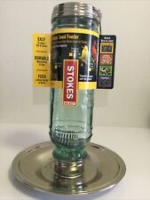 Very Rare Stokes Select Vintage Glass Seed Feeder New.
