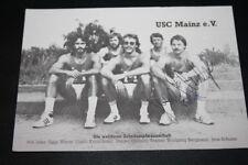 USC Mainz e.V. the world best Decathlon Team Autograph Card Jens Schulze AG