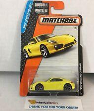 '14 Porsche Cayman * YELLOW * Matchbox * HB4