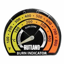 Rutland Stove Thermometer Each , New, Free Shipping
