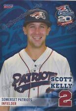 2017 Somerset Patriots Scott Kelly Atlantic League Independent