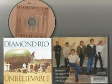 Diamond Rio - Unbelievable CD 1998 Arista Two Pump Texaco Miss That Girl EX cond