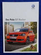 VW Polo GT Rocket - Prospekt Brochure 06.2008