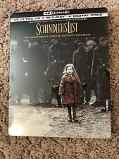 Schindler's List 4K Steelbook (Uhd,blu-ray + Digital) Sealed
