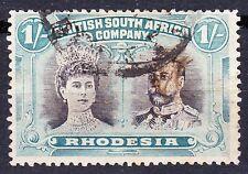 Rhodesia 1910-14 1/- P14 SG 152a FU