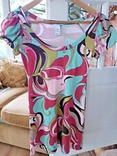 BNWT H&M Multi-coloured Long Top/Short Dress XS/Size 6--- RRP14.99!