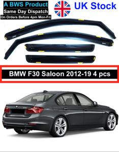 BMW 3 F30 4door saloon 2012-19 BWS wind deflectors 4pc UK Stock