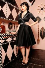 Deadly Dames Haunted Housewife Swing Dress Pinup Girl Pinup Couture
