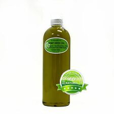 16 Oz Premium Pure Organic Cold Pressed Best Fresh Hemp Seed Oil Multi Purpose
