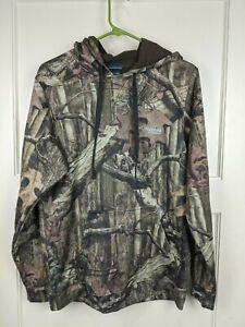 Columbia PFG Camo Hoodie Mossy Oak Break-up Infinity Sweatshirt Men's Size: S