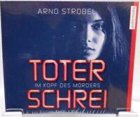 Toter Schrei - Im Kopf des Mörders + Thriller Hörbuch auf 6 CD´s + Arno Strobel