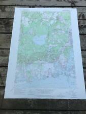 1957 Kingston Rhode Island USGS Geological Survey Topographic Topo Map