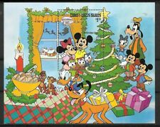 Turks & Caicos - 1983 Disney Oh Christmas Tree MNH S/S