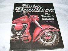 harley davisdon book, ultimate machine coffee table book