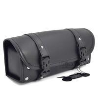 Tool Bag pour Harley Davidson Cruiser tous Chopper neuf! en cuir véritable Triumph