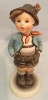"Vintage Goebel Hummell TMK2 95 "" Dorfheld Brother Gamin Porcelain Figurine w/box"