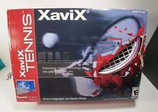XaviX Games Tennis Wireless Swing with Rackets & System Cartridge Model PT1-TNS1