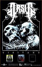ARSIS Visitant 2018 Ltd Ed RARE New Tour Poster +FREE Metal Hardcore Rock Poster