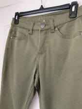Liverpool Jeans Company Sadie Straight Pants  Green  26/2