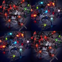 LED Solar Garden Lights Fairy Lights Dragonflies Butterflies Colour Changing