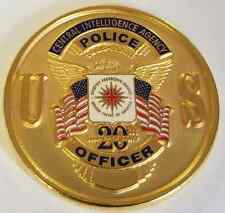 CIA Central Intelligence Agency Security Protective Service Police 20th Anniv