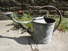Uralt BAT Zink-Gießkanne 13L Garten-Deko Pflanzgefäß Shabby Chic Vintage GK12