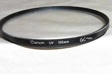 CANON UV FILTER 105MM THREAD ON SMALL EDGE CHIP RED ARRI