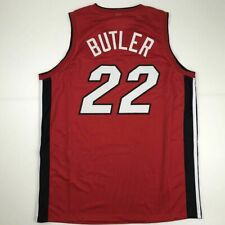 New Jimmy Butler Miami Red Custom Stitched Basketball Jersey Size Men's Xl