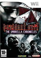 Resident Evil: The Umbrella Chronicles Nintendo Wii PAL Brand New
