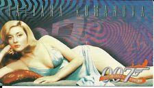 The Women of James Bond  insert card - E4  Tatiana Romanova