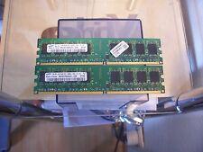 2GB (2x1GB) SAMSUNG M378T2953CZ3 - DDR2 - 667Mhz - PC5300U - ARBEITSSPEICHER