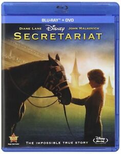 Secretariat (Blu-ray + DVD, 2011, 2-Disc Set) DISNEY NEW