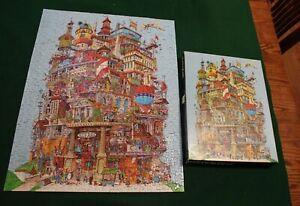 "Springbok Jigsaw Puzzle ""Verticalville"" - over 500 pieces, vintage, 1977"