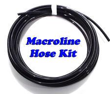25 ft Black Macroline for Paintball marker guns - Macro air hose line kit - OEM