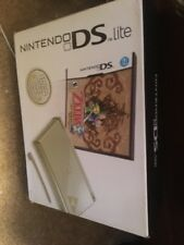 Nintendo DS Lite Legend of Zelda: Phantom Hourglass Gold Handheld System New