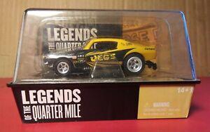 Auto World no 3 1970 chevy camaro Jeg's Funny Car legends of quarter mile MIB