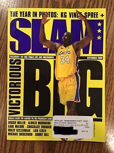 SLAM Basketball Magazine Issue #45 - September 2000 - Shaq Cover + Kobe Poster!