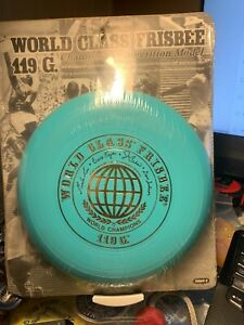 Wham-o Frisbee World Class 119 Gram 40 mold first 4 signature disc 1975 champion