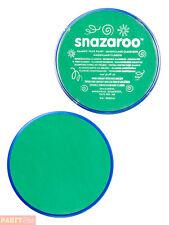 18ml Snazaroo Bright Green Face Body Paint Makeup - Fancy Dress 1118444