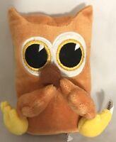 "Hallmark Dayspring U-Neeks TAN OWL 6"" Plush STUFFED ANIMAL Toy"
