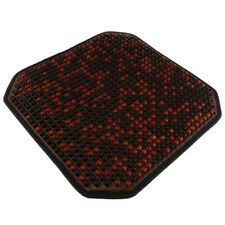 Wood Beads Car seat Cushion Natural Wooden Beads Massage Seat Cover Pad Mesh