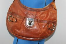 Marks and Spencers Autograph tan brown leather bag
