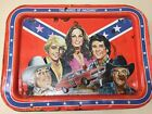 Vintage The Dukes Of Hazzard Metal TV Tray General Lee 1981 EPIC HISTORY*READ***
