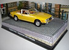 007 JAMES BOND DIAMONDS ARE FOR EVER TRIUMPH STAG  1/43 Die-cast.