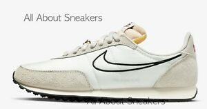 """Nike Waffle Trainer 2 """"Sail/Light Bone/S"""" Men's Trainers Limited Stock All Sizes"""