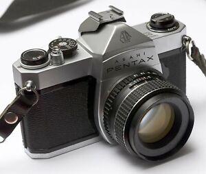 Pentax SP 1000 Spiegelreflexkamera mit Objektiv Takumar 1,8/55mm ++ SLR läuft ++