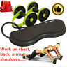 Power Roll Ab Roller Wheel Trainer For Abdominal Full Body Workout Fitness Tool