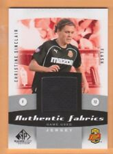 2011 SP Game Used MLS Authentic Fabrics #CS Christine Sinclair Jersey - Flat S/H